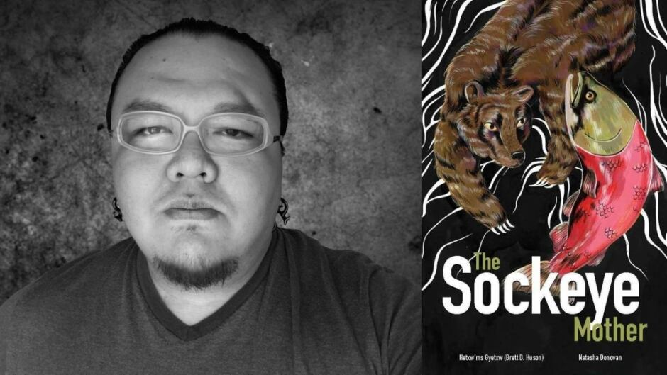 Gitxsan writer Brett Huson wrote the Sockeye Mother to share the knowledge he learned as a child about the importance of sockeye salmon.