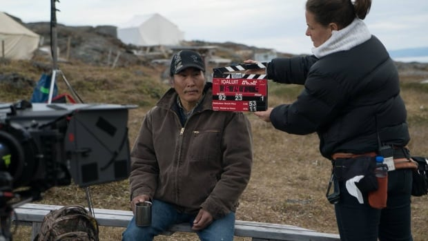 Natar Ungalaaq is nominated for best performance by an actor in a supporting role at the Canadian Screen Awards for his portrayal of Noah in the film Iqaluit.