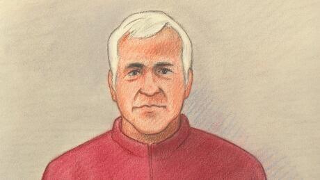 Dr. Vincent Nadon - Court artist's sketch