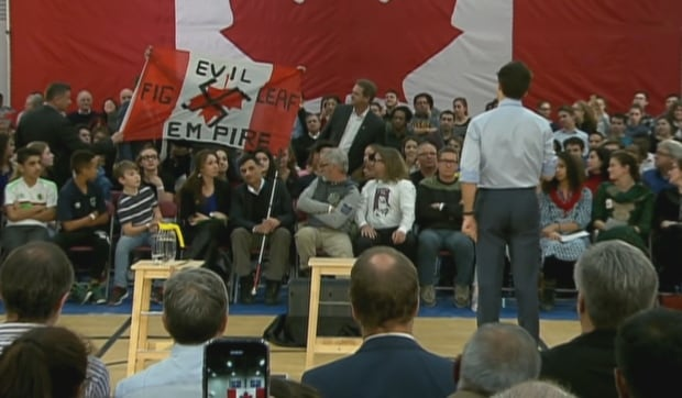 Justin Trudeau Quebec Town Hall