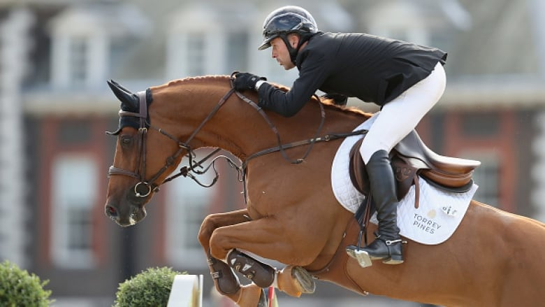 Eric Lamaze Shown Last Year Won His Second Equestrian Competition Of 2018 On