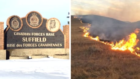 CFB Suffield fire