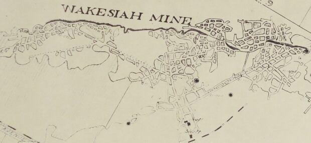 Wakesiah mine rendering