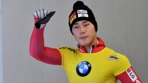South Korea's Yun wins overall World Cup skeleton title — and he didn't even race