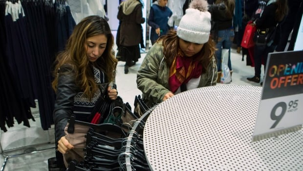 H&M and some other major retailers have in-store bins so shoppers can drop off their old clothes.