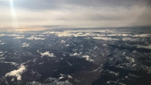 Rocky Mountains from up above