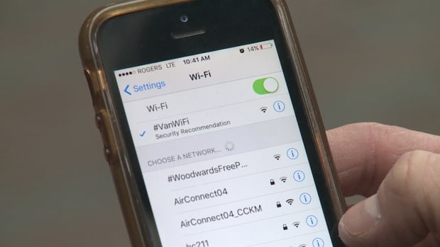 Users need to register before they can connect to the Wi-Fi hub. Their phones will automatically connect to other hubs across the city when passing by.