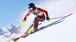 Watch World Cup women's giant slalom from Italy