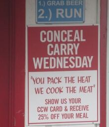 Ideas - God & Gun show - Conceal Carry