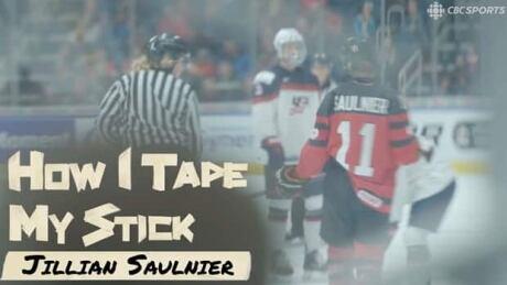 How I Tape My Stick | Jillian Saulnier