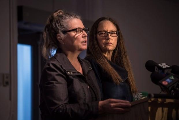 Patricia Kinsman and Karen Coles