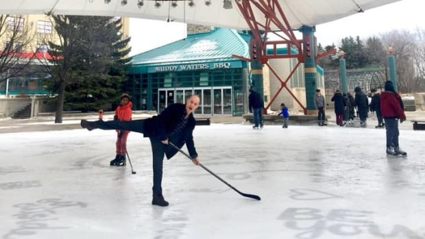 Canadian figure-skating legend Kurt Browning is in Winnipeg for three concert performances with the Winnipeg Symphony Orchestra exploring the music behind the sport.