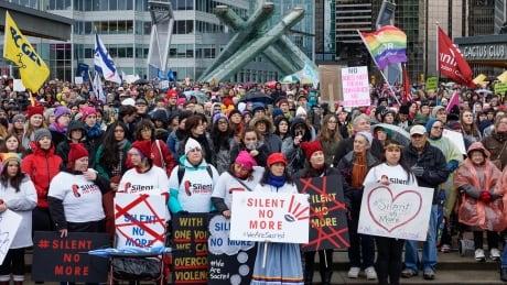 women's march yvr