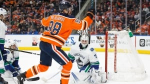 Jesse Puljujarvi powers Oilers past Canucks in return from bye