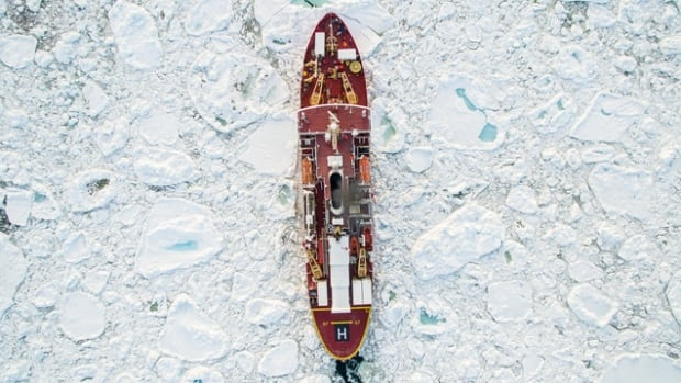 Filmmaker aboard icebreaker documents aborted mission to study Arctic climate change