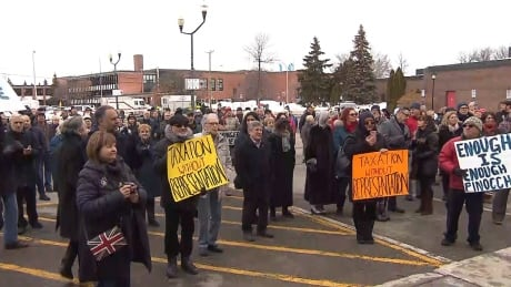 'Enough is enough': West Island residents push back against tax hikes