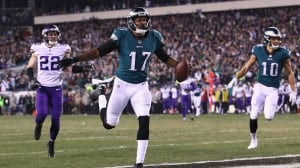 Eagles fly past Vikings to book Super Bowl berth