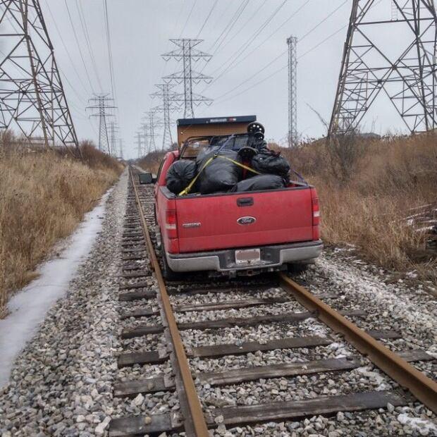 Stolen pickup