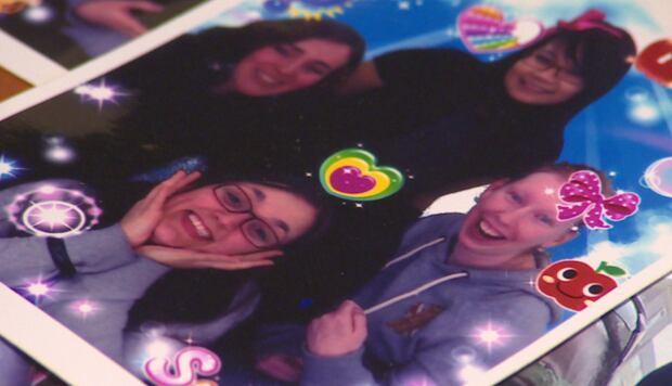 Stephanie Lushman with friends