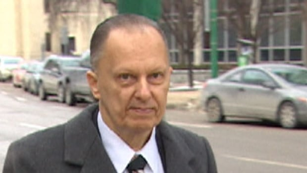 Ron Siwicki leaves court in Winnipeg Monday after pleading guilty to criminal negligence causing death. Siwicki was the caregiver for his mom, who died beside her bed after being left there, injured, for weeks.