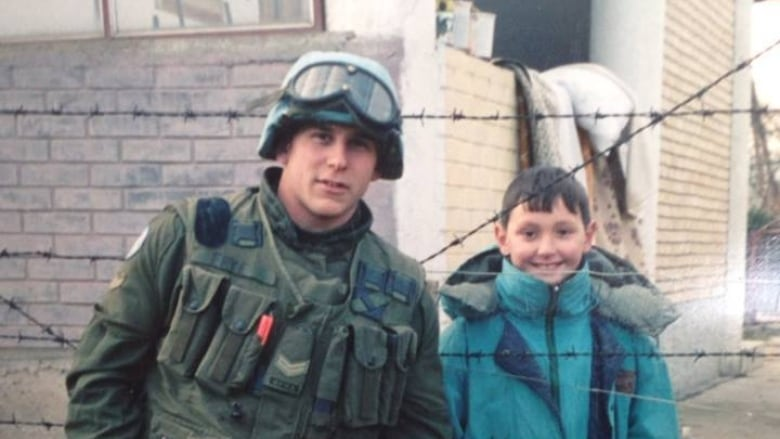 Canadian military pen pals