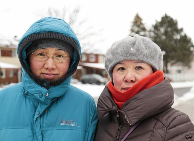 Carrie Chen and Leiling Zheng Bells Corners Jan. 22, 2018