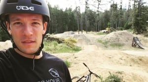 In this luxury enclave, success is a dirt-jump track for former pro biker