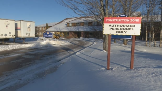Part of the Mill River Resort is under construction, but it's 'business as normal,' says the resort's Geoffrey Irving.