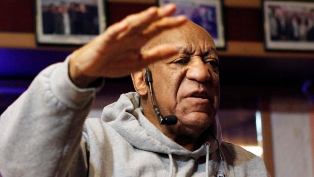 Bill Cosby performs at the LaRose Jazz Club in Philadelphia on Monday. It was his first public performance since his last tour ended amid protests in May 2015.