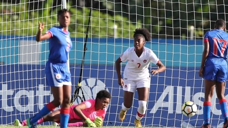 Shana Flynn scores 3 to lead Canada over Haiti at U-20 women's tournament