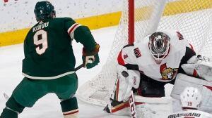 Zucker scores in 4th straight game as Wild top Senators