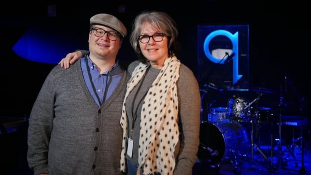 Charlie Demers and Laurie Brown