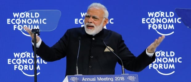 DAVOS-MEETING/INDIA-MODI