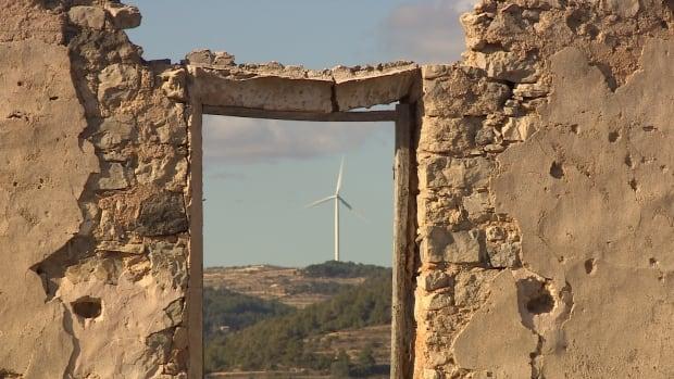 Wind turbine in Catalonia