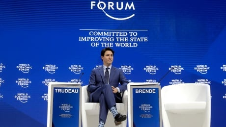 Trudeau promotes Time's Up, #MeToo movements in Davos speech