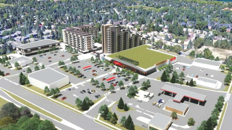 Calgary Co Op Oakridge Plans Not Good Enough For City Council Cbc News
