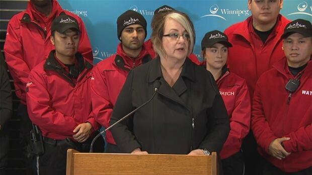 Downtown Winnipeg BIZ board chair Diana Wiesenthal.
