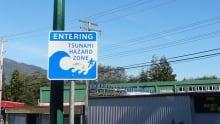 Prince Rupert tsunami hazard zone