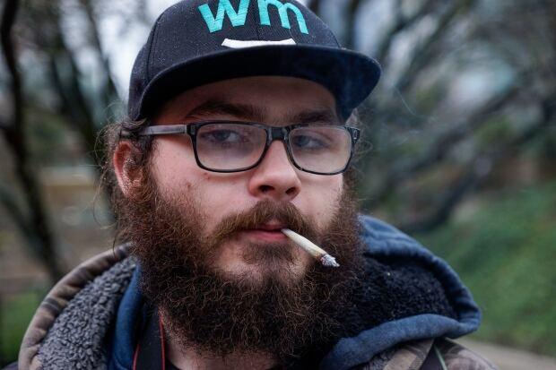 Robson street pot vendor marijuana