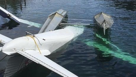 RCMP Kitkatla Float Plane Seaplane Crash Submerge