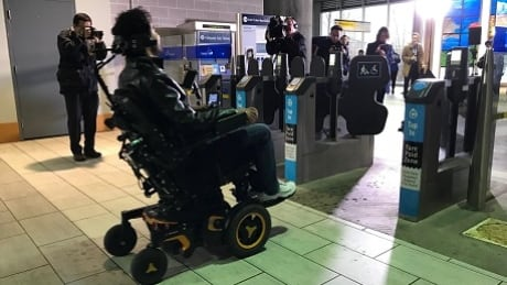 TransLink disabled access