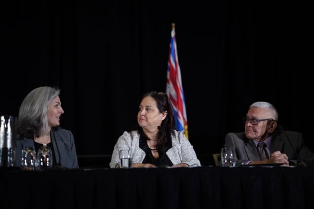 Panel talk at AME Roudup 2018 Chief Dr. Robert Joseph and Karen Joseph