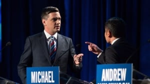 Heated arguments as B.C. Liberal leadership candidates debate for final time