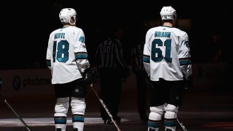 Sharks' Hertl, Braun regret insulting Winnipeg in interview