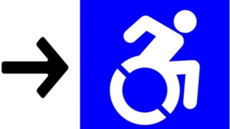 Sarnia Adopts Dynamic Accessibility Symbol Showing Wheelchair In