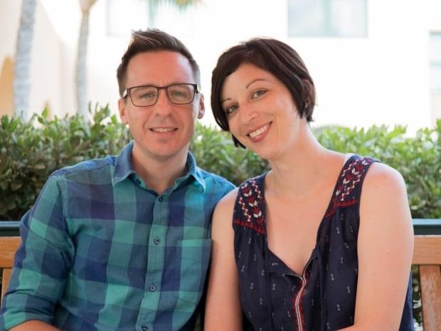 Erin Jackson and husband