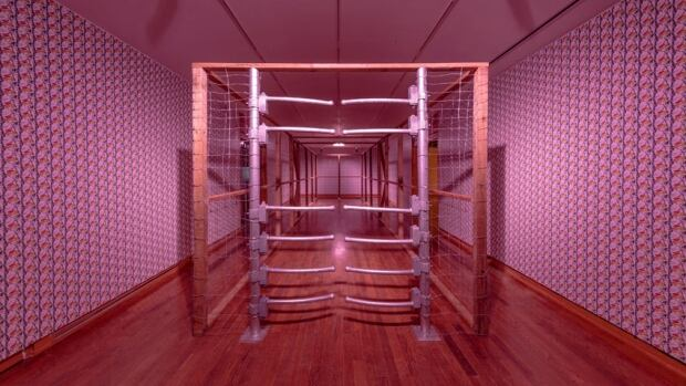 2017 Sobey Art Award - Ursula Johnson - Installaton