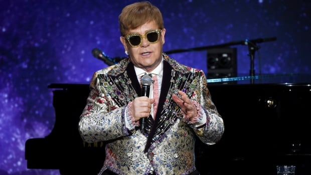 Singer Elton John announces final world tour at Gotham Hall on Wednesday in New York.