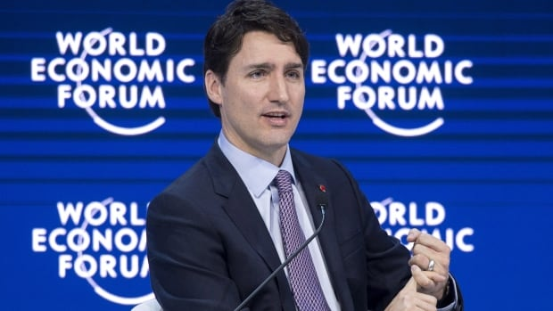 Prime Minister Justin Trudeau is making his way home today from the World Economic Forum in Davos, Switzerland.