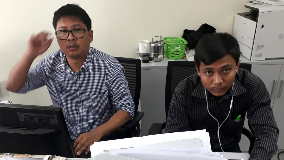 Myanmar refuses to drop case against Reuters journos